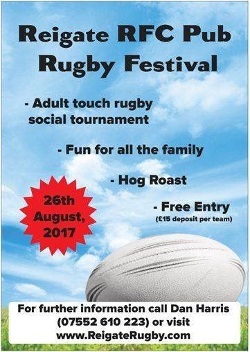 Reigate-RFC-Touch-Tournament