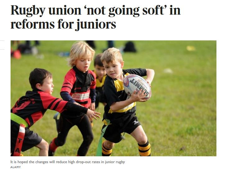 Surrey Rugby Leading the way in Junior Competitions