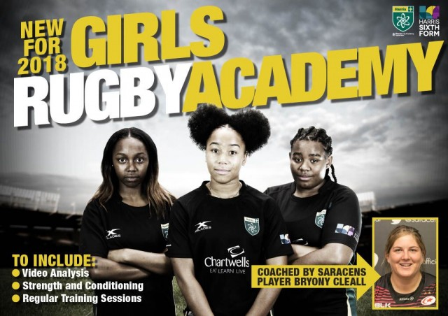 New Girls Rugby Academy at Harris City Academy