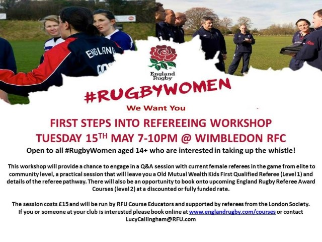 Female Only Refereeing Workshop