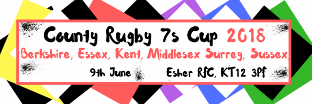 SURREY COUNTY 7's TEAM - TRIALS - WEDNESDAY 16TH MAY 2018