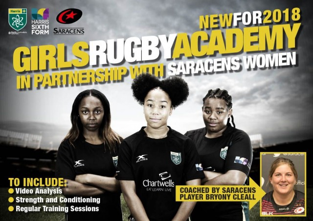 Girls Rugby Academy - Harris City Academy (Crystal Palace)