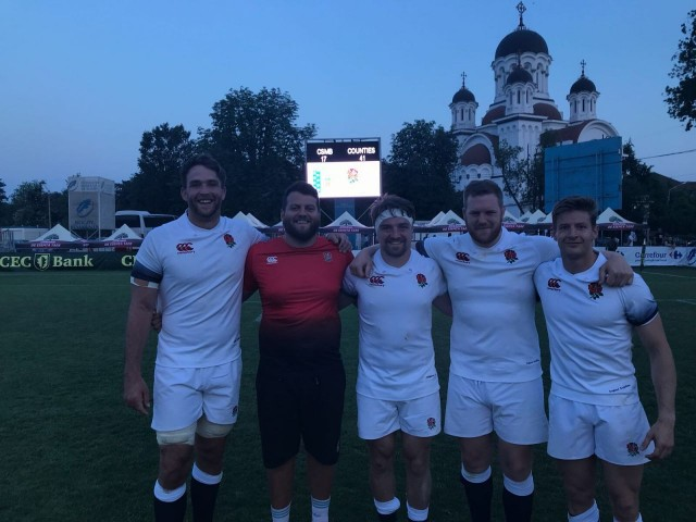 Surrey Players Tour of Romania with England Counties