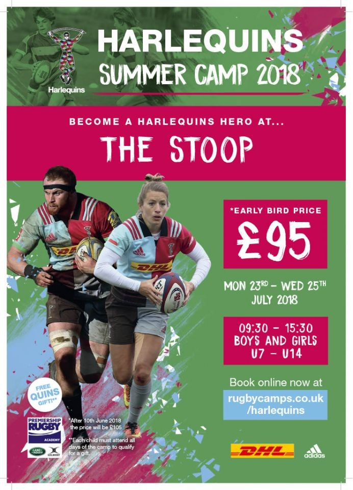 Harlequins Summer Camps