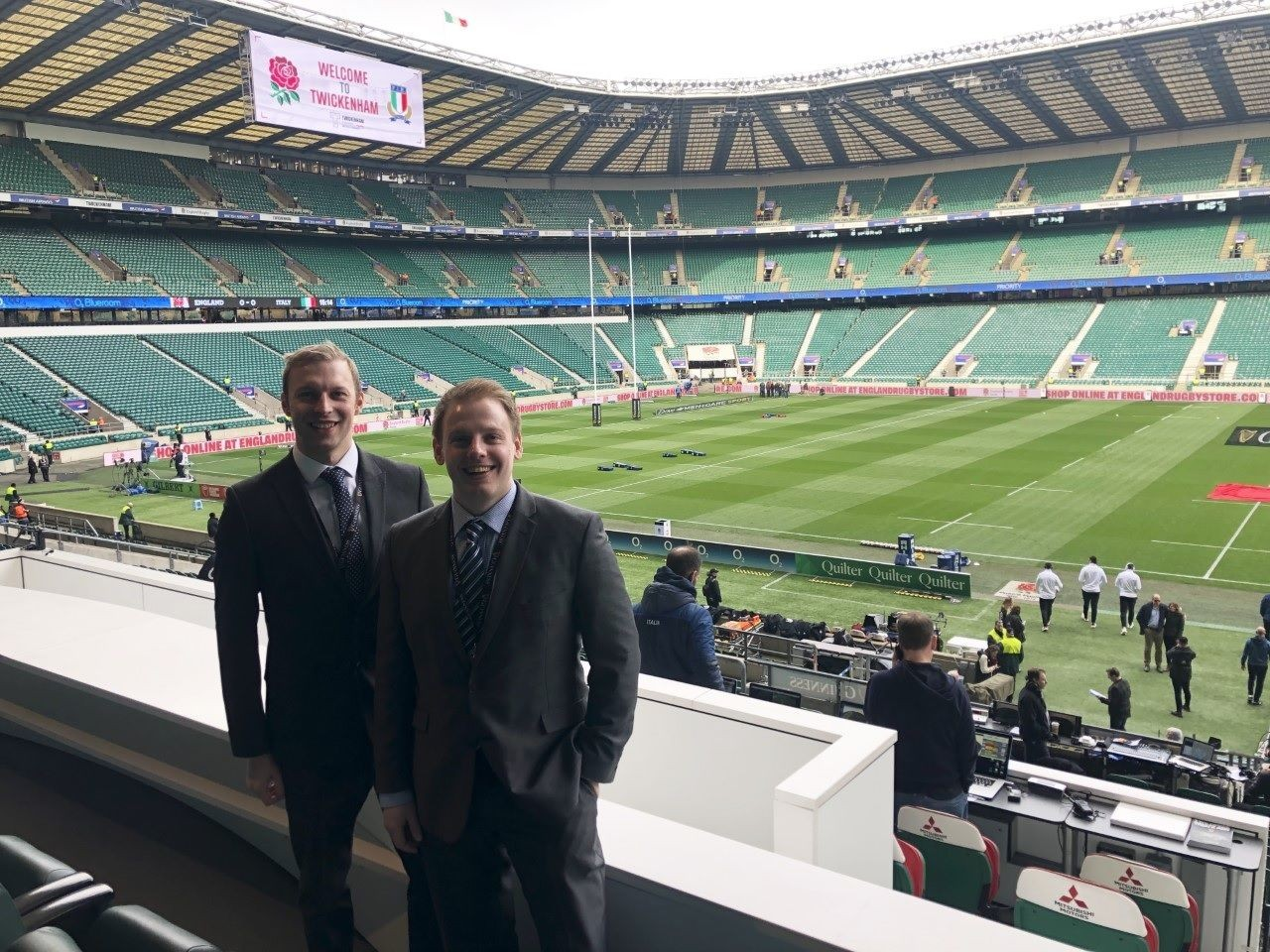Surrey Patron Wins 6 Nations Tickets and Hospitality at HQ