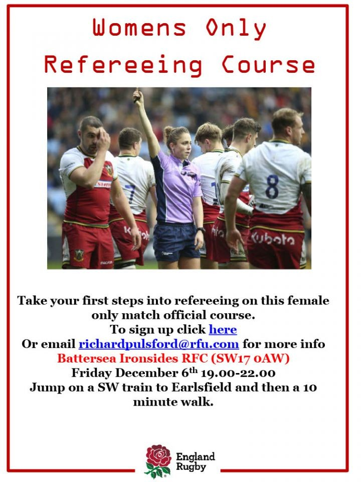 **POSTPONED UNTIL THE NEW YEAR** Quilter Kids First Refereeing Children Course for Women Only