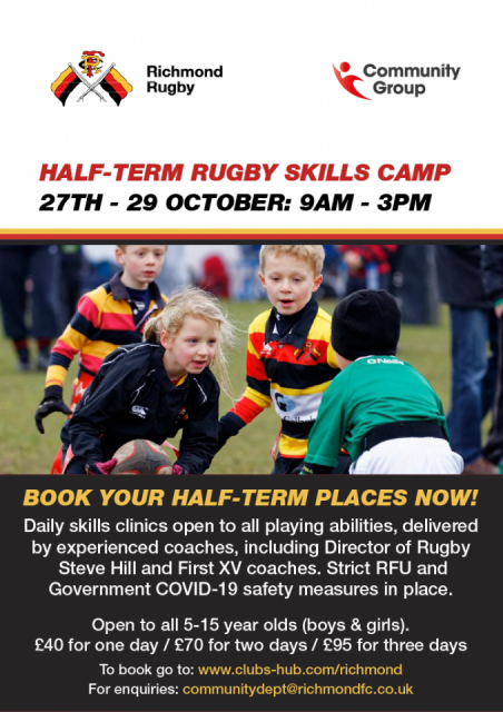 Half Term Rugby Camp at Richmond FC